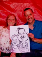 Corporate Caricature Artist Wolverhamton